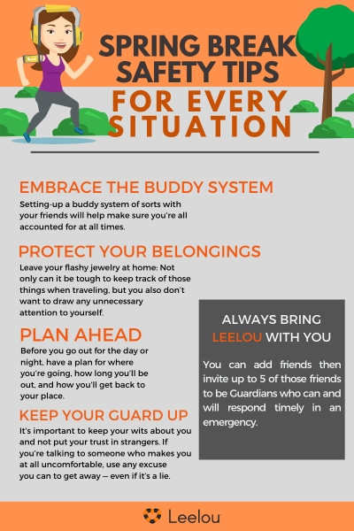 Spring Break Safety Tips for Every Situation