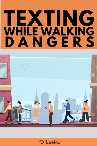 The Danger of Texting While Walking